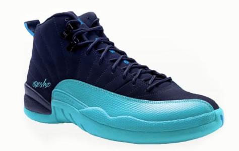 """Air Jordan 12 """"Carolina Blue"""""""