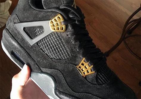 "Air Jordan 4 Retro ""Black Gold"""
