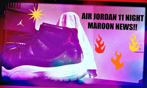 "GS Air Jordan 11 ""Night Maroon"" ""Heirness"""