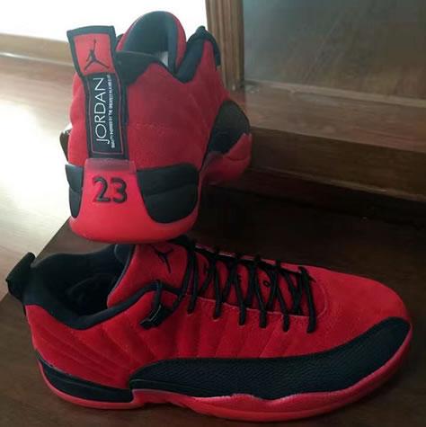 "Air Jordan 12 Low ""Red Suede"" Release Dates"