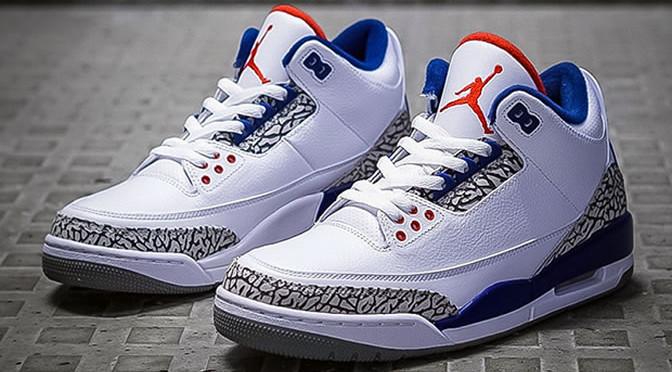 """Air Jordan 3 OG 88 """"True Blue"""""""