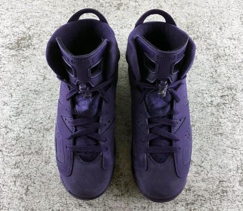 "Air Jordan 6 GS ""Purple Dynasty"""