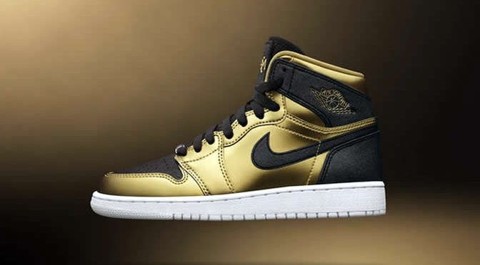 "Air Jordan 1 High GS ""BHM"" Release Date"