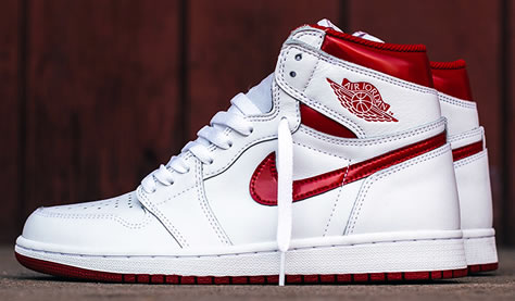 "Air Jordan 1 High Og ""Metallic Red"""