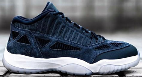 "Air Jordan 11 IE Low ""Midnight Navy"""