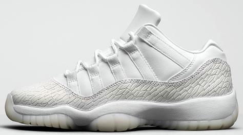 "Girl's Air Jordan 11 Low Retro ""Frost White"""