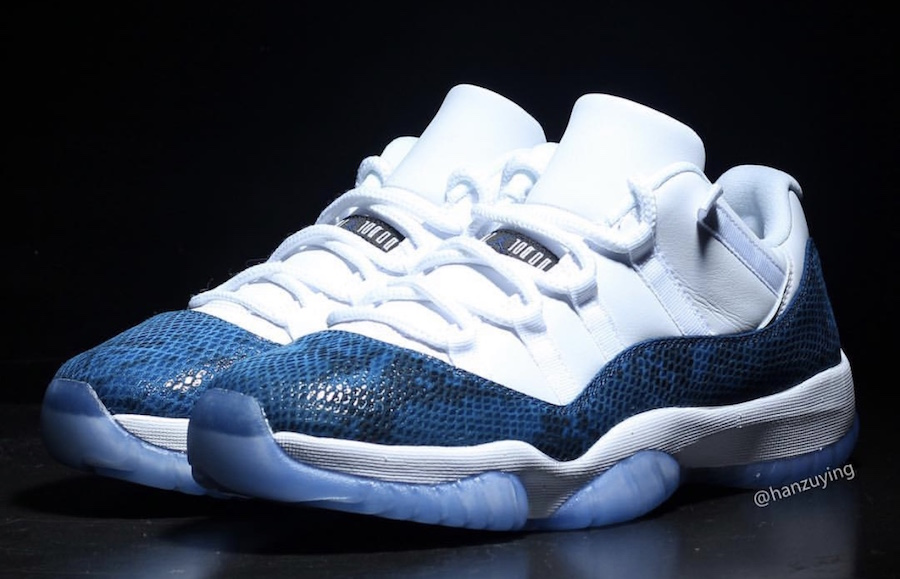 Air Jordan 11 Low Snakeskin